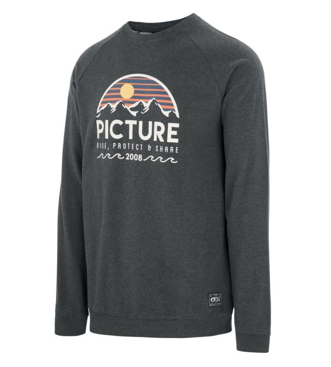 Picture Organic Clothing Bellevue miesten collegepaita