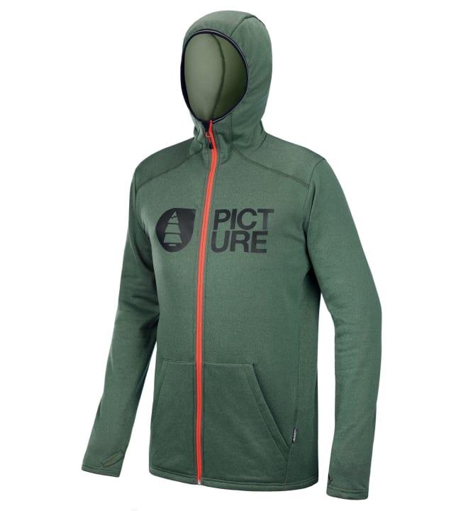 Picture Organic Clothing Rony Zip Tech miesten huppari