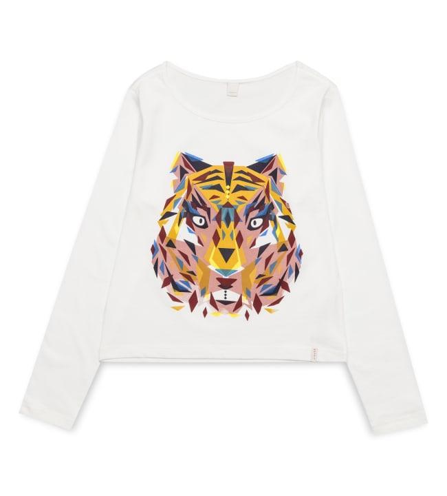Esprit eläinkuvioitu lasten pitkähihainen paita