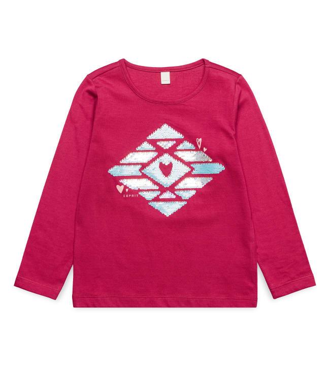 Esprit Paljetti lasten pitkähihainen paita