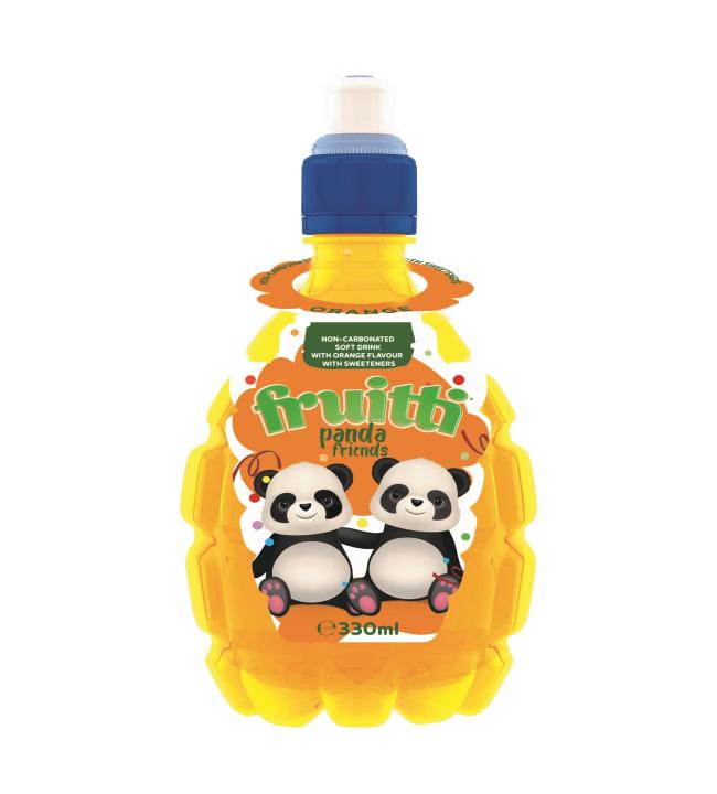 Fruitti Appelsiini hiilihapoton 330 ml juoma