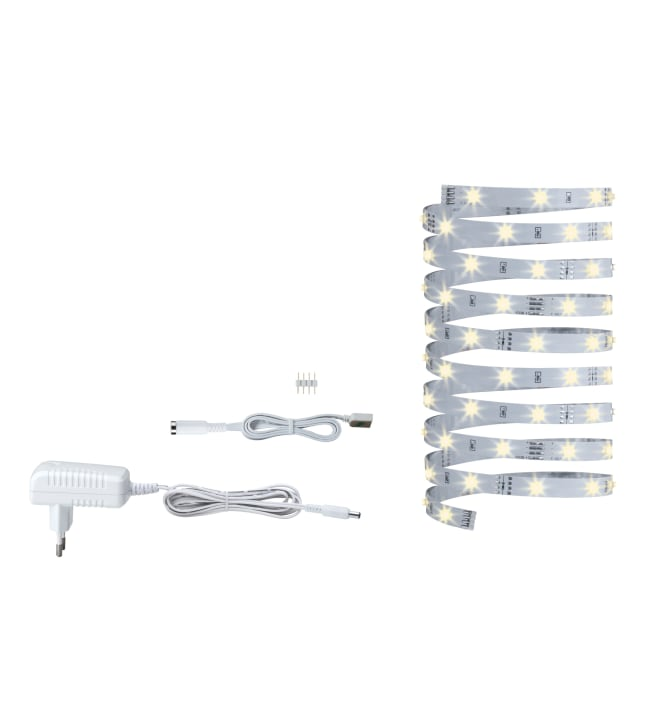 Paulmann YourLED ECO 3m 7,2W 230/12V 3000K lämmin valkoinen LED-nauhasetti