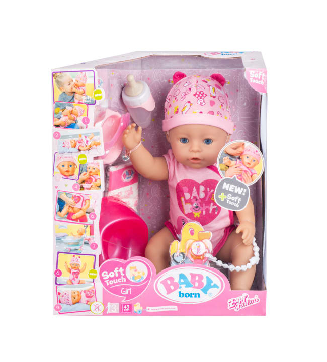 Baby Born Soft Touch 43 cm pehmeä vauvanukke