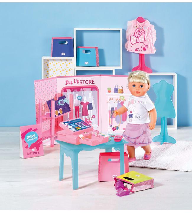Baby Born Boutique Pop Up Store kauppaleikkisetti