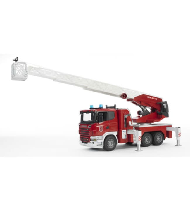 Bruder 03590 Scania R-sarjan paloauto vesipumpulla