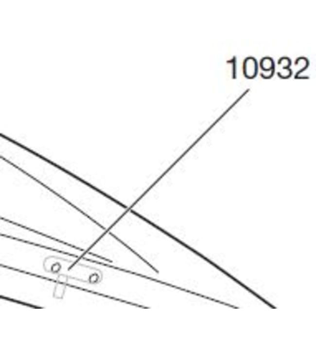 Thule TH 10932 boksin yläkannen lukkokieleke