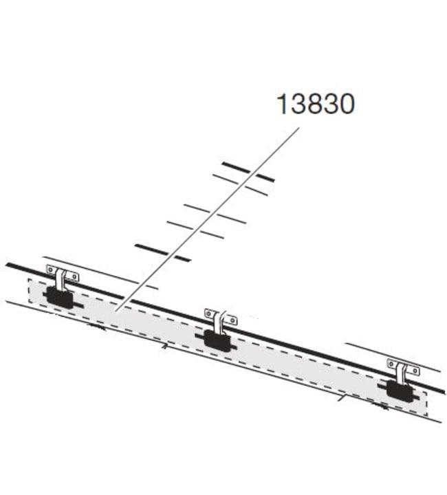 Thule 1720mm (esim Touring 700) lukituskisko