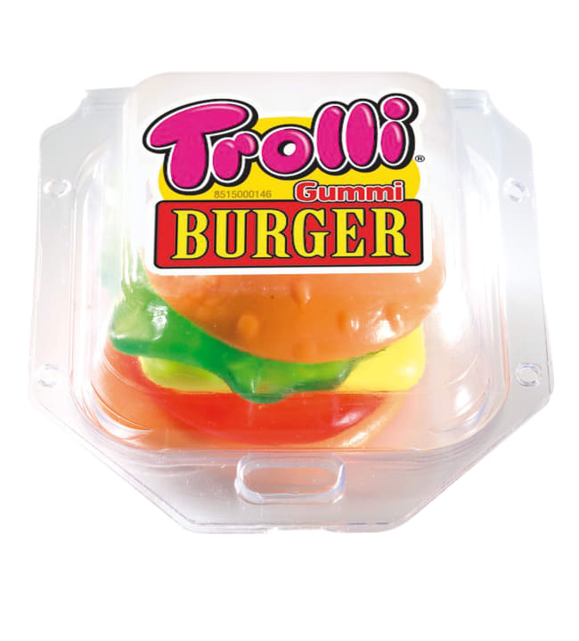 Trolli Burger 50 g viinikumimakeinen