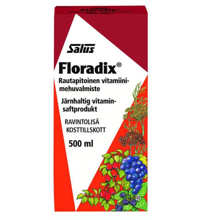 Salus Floradix 500 ml rautavalmiste