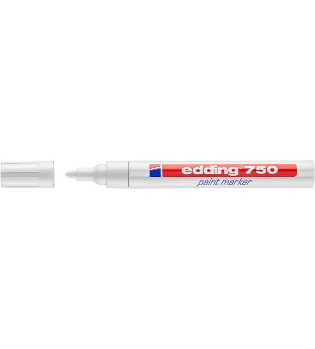 Edding 8750 Paint Marker 2-4 mm valkoinen maalikynä