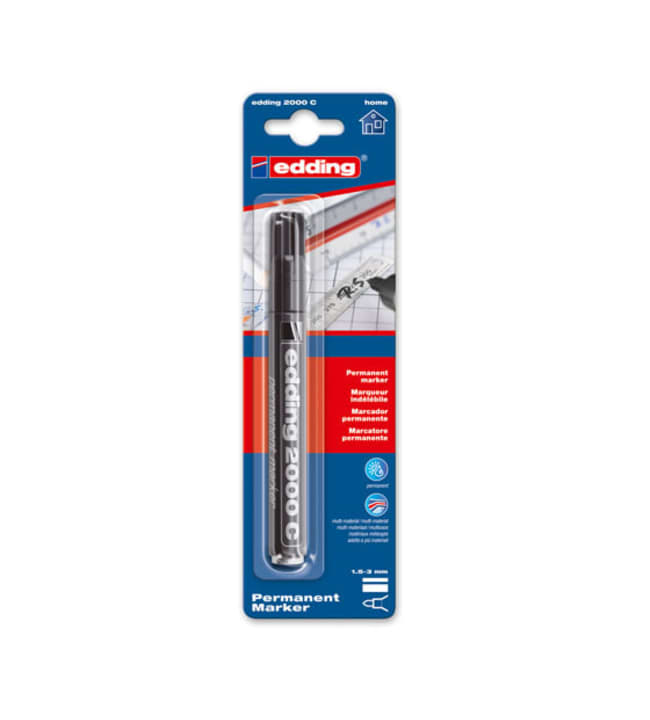 Edding 2000C Permanent Marker 1,5-3 mm merkintäkynä