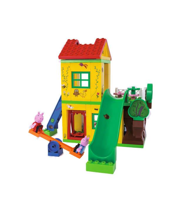 PlayBIG Bloxx Pipsa Possu leikkitalo rakennussarja