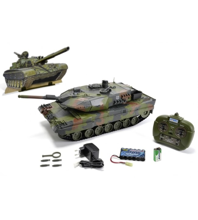 Carson 1:16 Leopard 2A6, 2,4 GHz 100% RTR