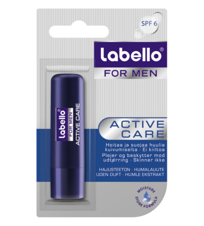 Labello For Men Active Care 5,5 ml huulivoide