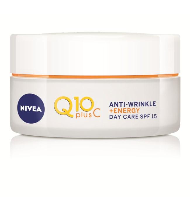 NIVEA Q10plusC Anti-Wrinkle + Energy Day Cream -päivävoide