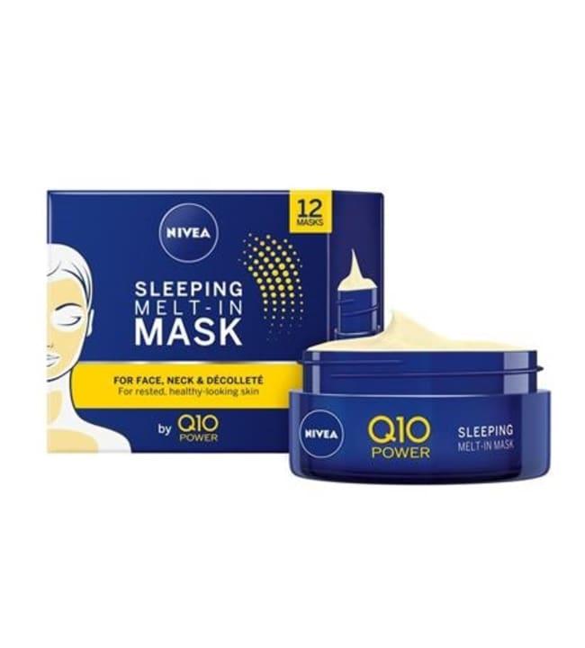 Nivea 50ml Q10 POWER Sleeping Melt-In Mask -yönaamio