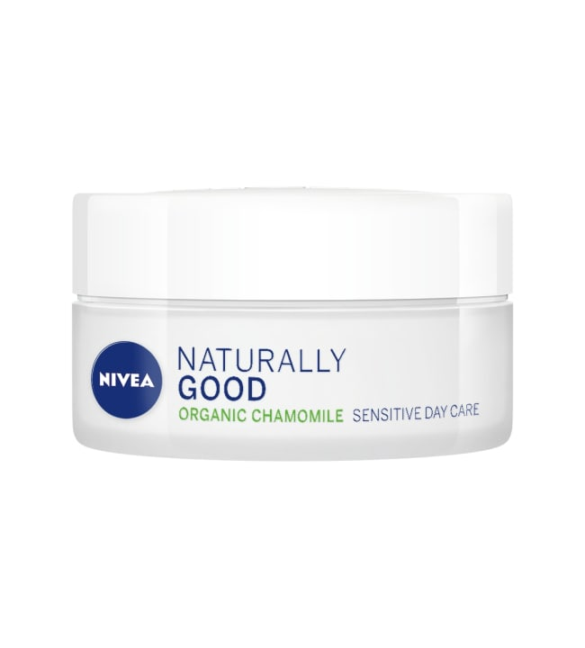 Nivea Naturally Good Sensitive Day Care 50 ml päivävoide