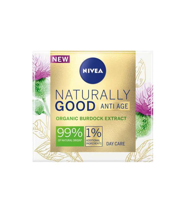 Nivea Naturally Good Anti-Age 50 ml päivävoide