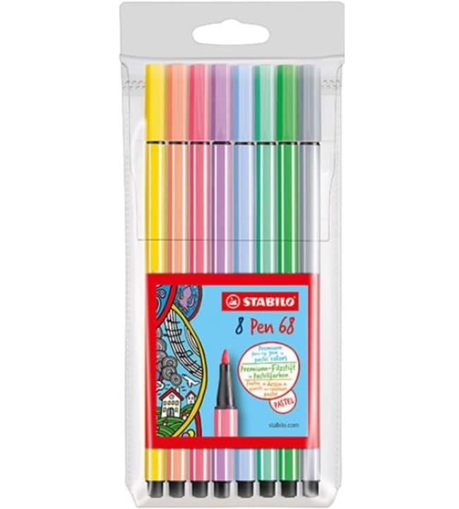 Stabilo Pen kuitukärkikynä pastellilajitelma