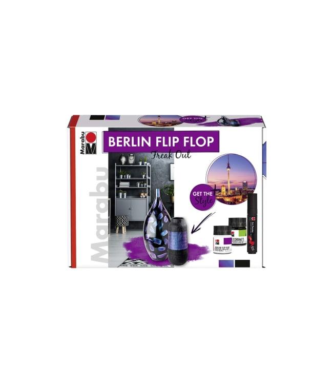 Marabu Berlin FlipFlop askarteluvärilajitelma