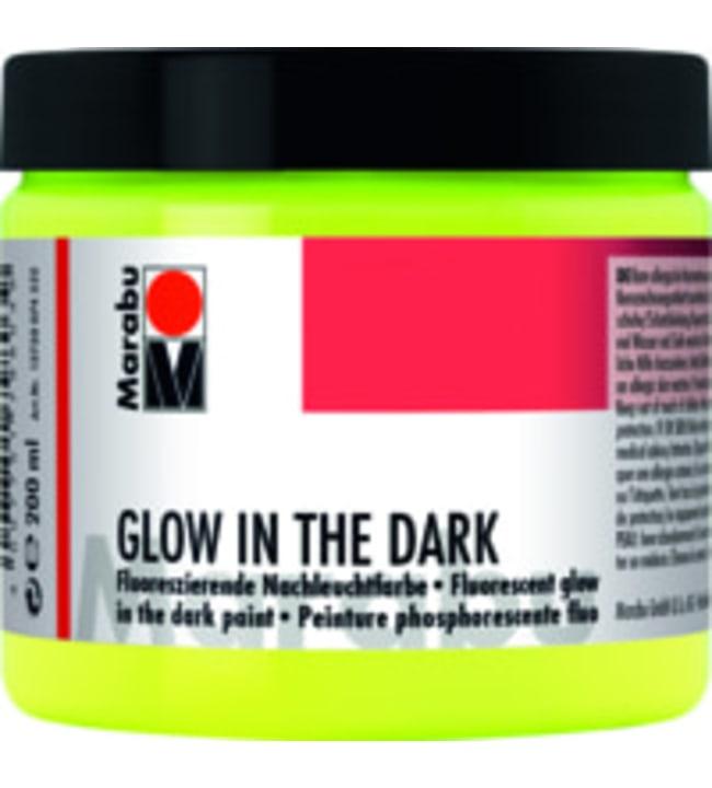 Marabu Glow in the Dark 200ml akryylimaali