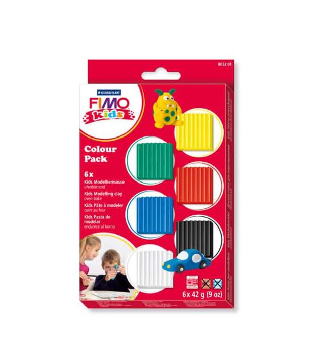 Staedtler Fimo Form & Play väri lajitelma 6 x 42 g askartelumassa
