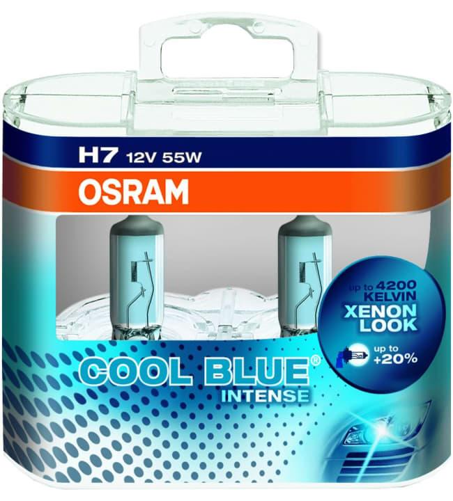 Osram Cool Blue Intense H7 55W 12V 2kpl polttimo