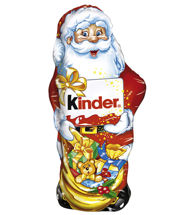 Kinder 160 g suklaajoulupukki