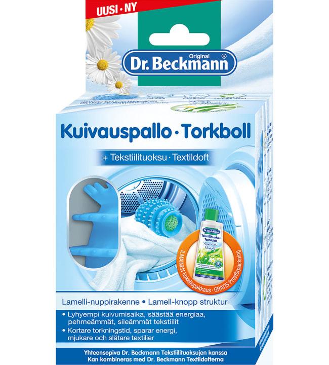 Dr. Beckmann kuivauspallo + tekstiilituoksu