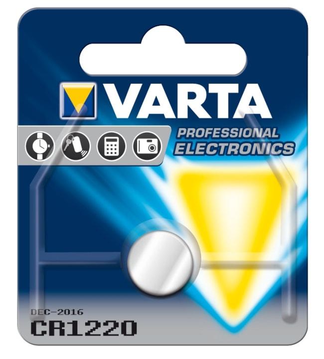 Varta CR1220 3V litium nappiparisto