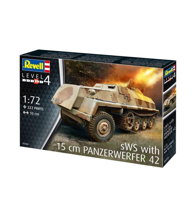 Revell Panzerwerfer 42 Auf 1:72 pienoismalli