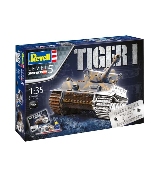 Revell Gift Set 75 Years Tiger I 1:35 pienoismalli