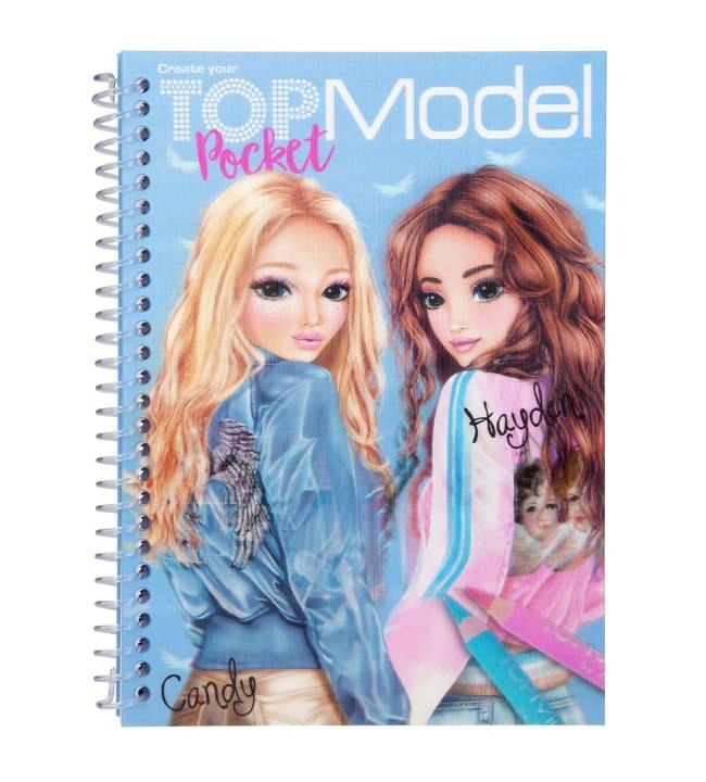 TOPModel 3D taskuvärityskirja