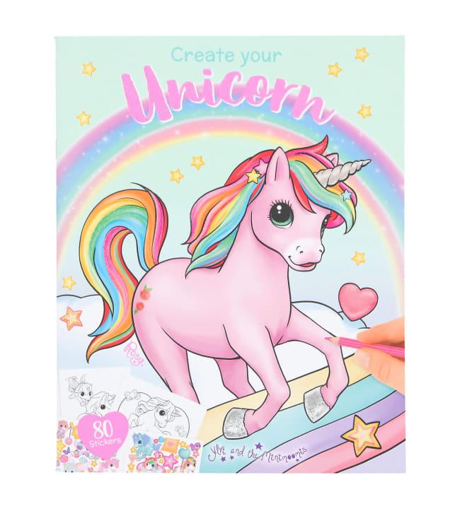 Ylvi & the Minimoomis unicorn 2 värityskirja