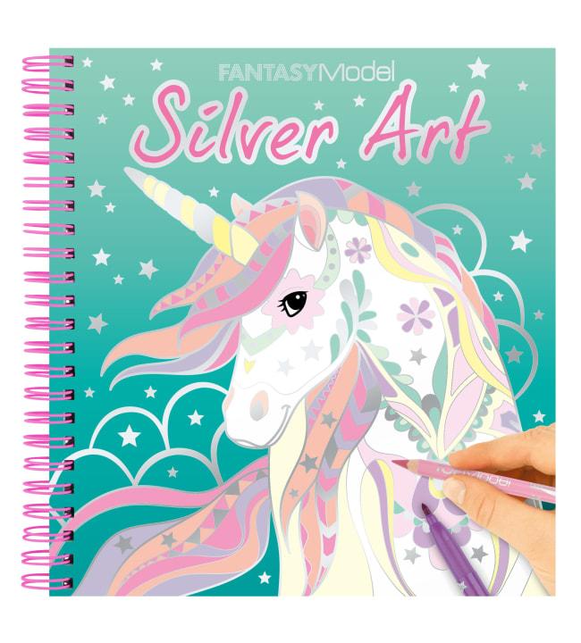Fantasy Silver Art Suunnittelukirja