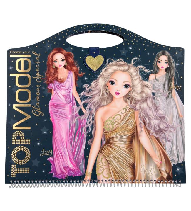 TOPModel Glamour suunnittelukirja
