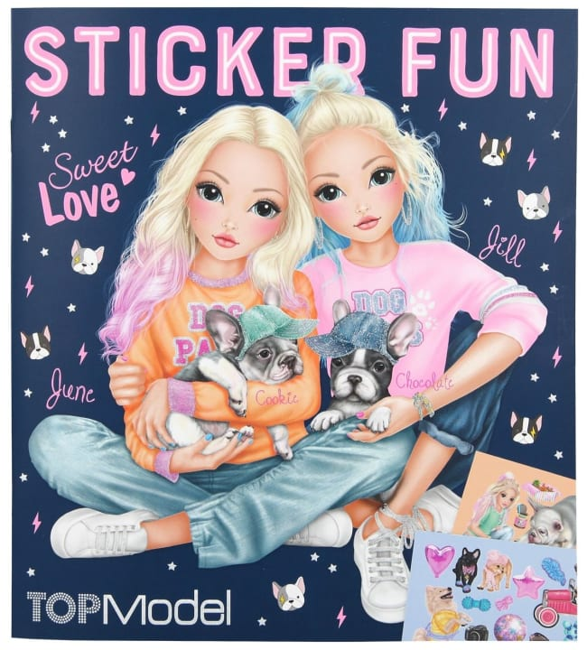 TOPModel Sticker Fun tarrakirja