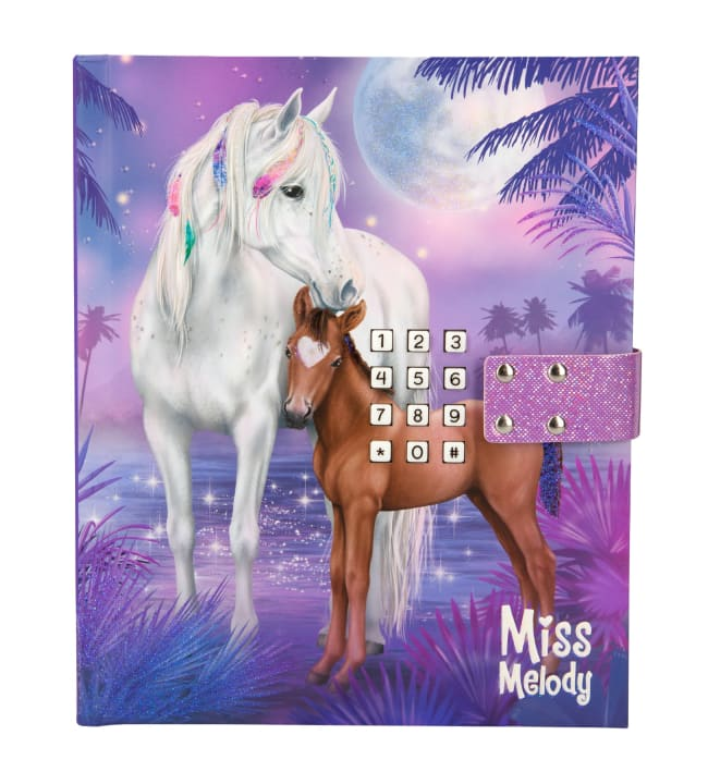 Miss Melody Koodillinen & soiva päiväkirja
