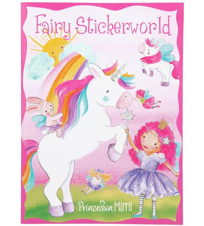Princess Mimi Stickerworld tarrakirja