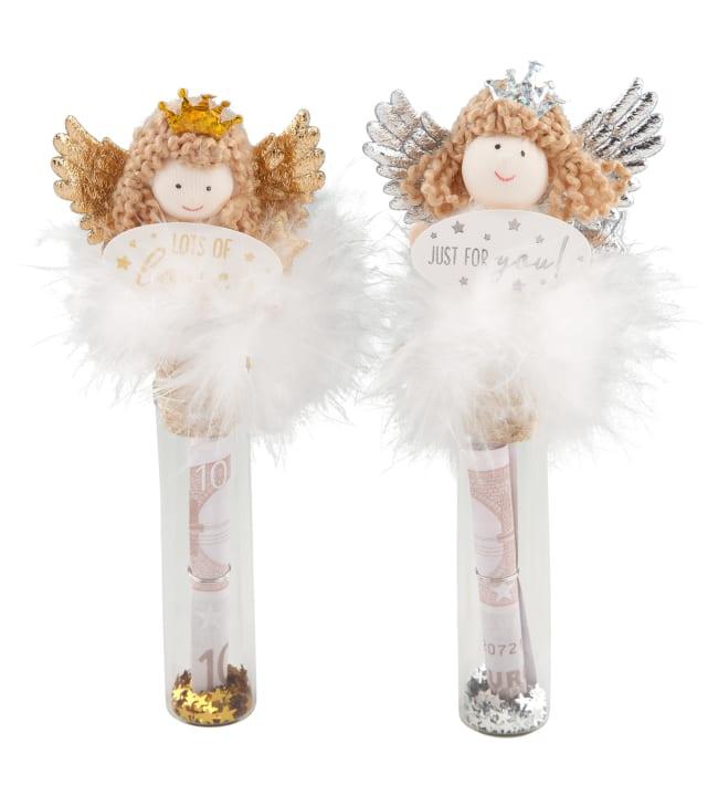 Wish Fulfiller Lahjalasipullo enkelikorkilla