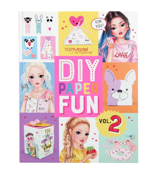 TOPModel DIY Paper fun-kirja