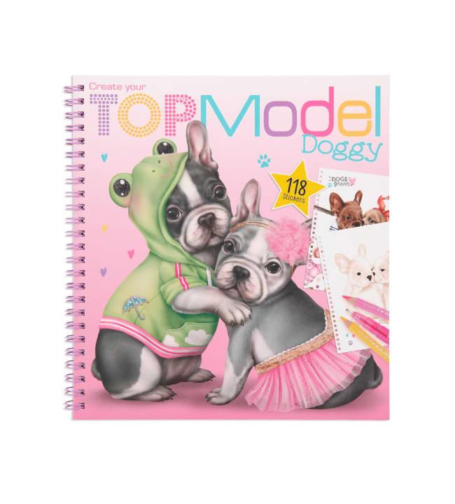 TOPModel Doggy värityskirja