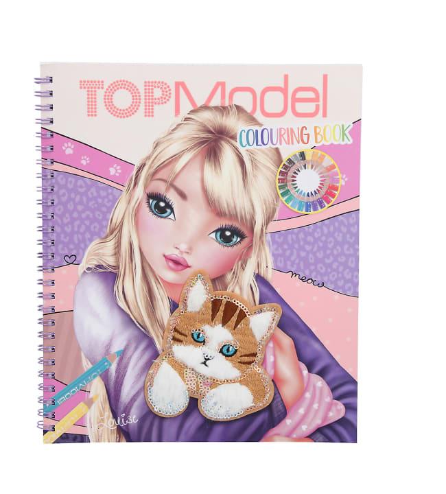 TOPModel Cat värityskirja