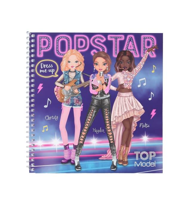 TOPModel Popstar Dress me up tarrakirja