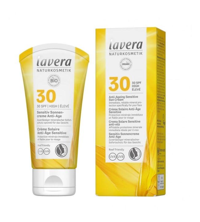Sensitive Sun Cream Anti-Age SPF30 50 ml kasvoille aurinkovoide