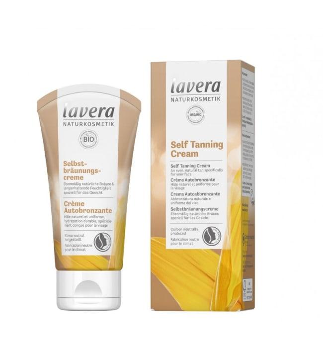Lavera Self-Tanning Face Cream 50 ml kasvoille itseruskettava voide