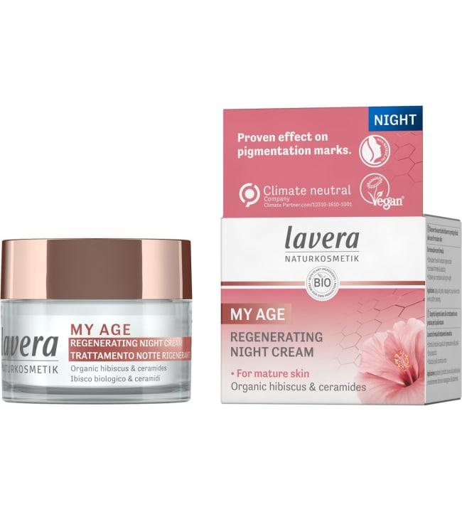 Lavera My Age Regenerating Night Cream 50 ml yövoide