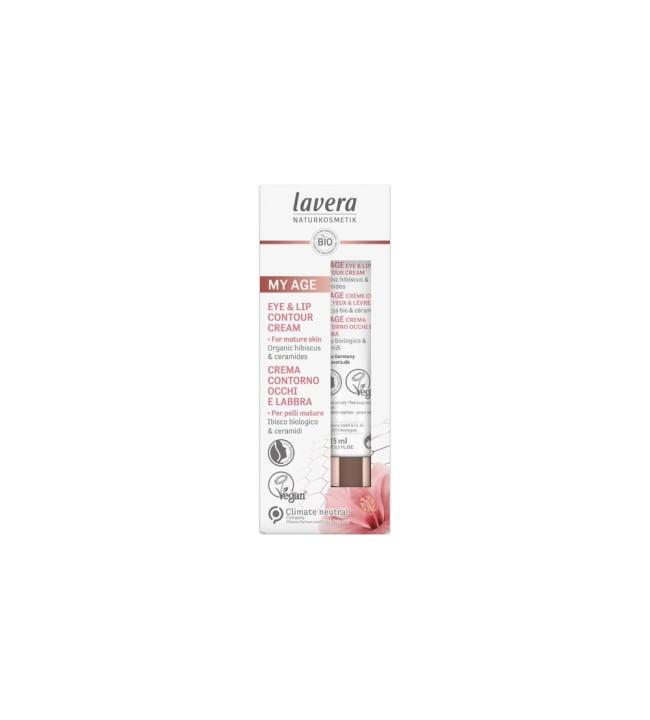 Lavera My Age Eye & Lip Contour Cream 15 ml silmän-ja huultenympärysvoide