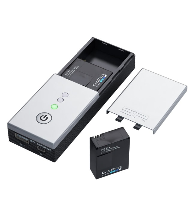 SP Powerbar Duo GoPro latausasema