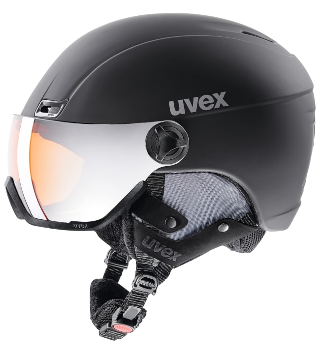 Uvex HLMT 400 Visor Style laskettelukypärä